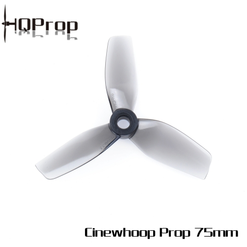 HQProp  75MM for Cinewhoop Grey (2CW+2CCW)-Poly Carbonate