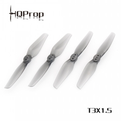 HQ Durable Prop T3X1.5 Grey (2CW+2CCW)-Poly Carbonate