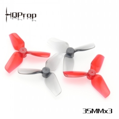 HQ Micro Whoop Prop 35MMX3  (2CW+2CCW)-Poly Carbonate-1MM Shaft