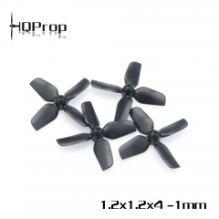 HQ Micro Whoop Prop 1.2X1.2X4 (31MM)1MM Shaft (2CW+2CCW)-ABS